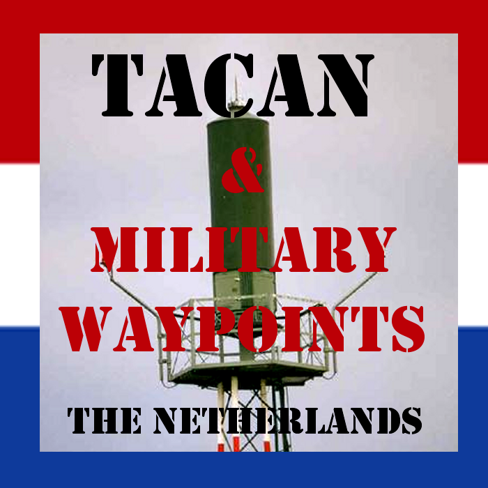 Working TACAN Beacons and military waypoints in the Netherlands Flight Simulator 2020