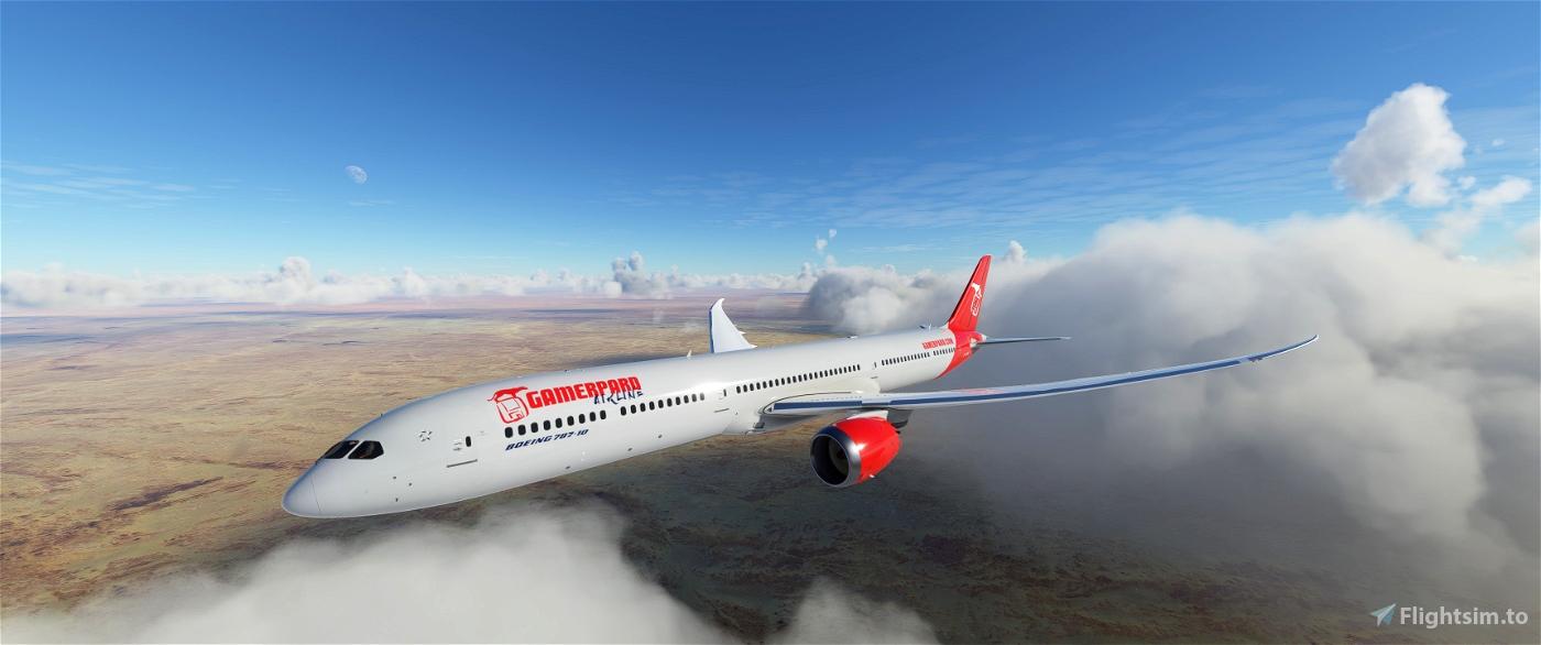 Gamerpard Airline (VA) B787 Livery Flight Simulator 2020