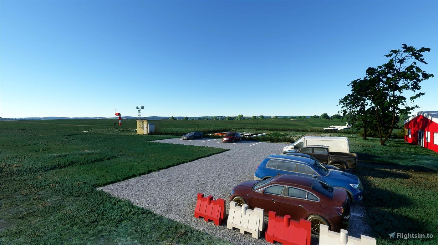 Letiště Polička-LKPA Flight Simulator 2020