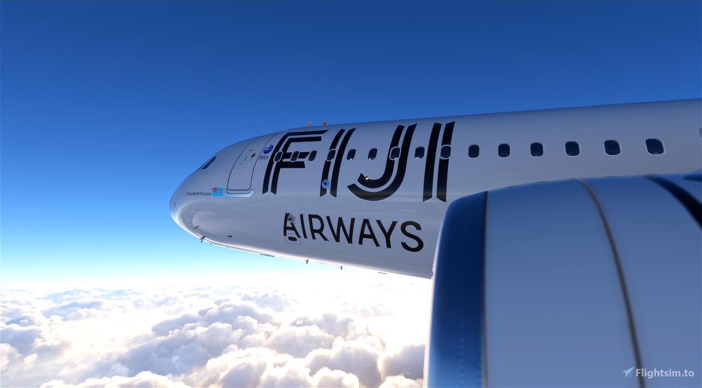 [8K] Fiji Airways Flight Simulator 2020