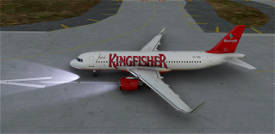 (8K) Kingfisher Airlines A320 Image Flight Simulator 2020