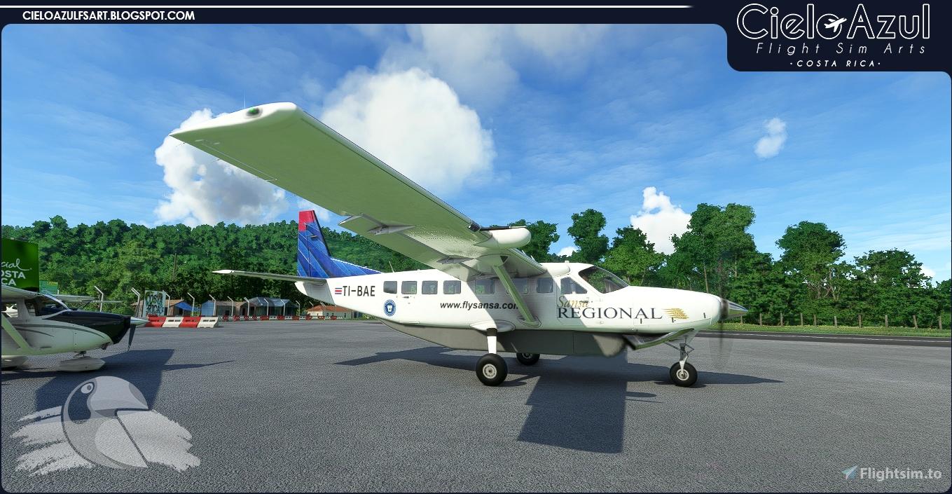 Sansa Regional | Memories Package | Asobo Cessna C208B EX Grand Caravan (8K) Flight Simulator 2020