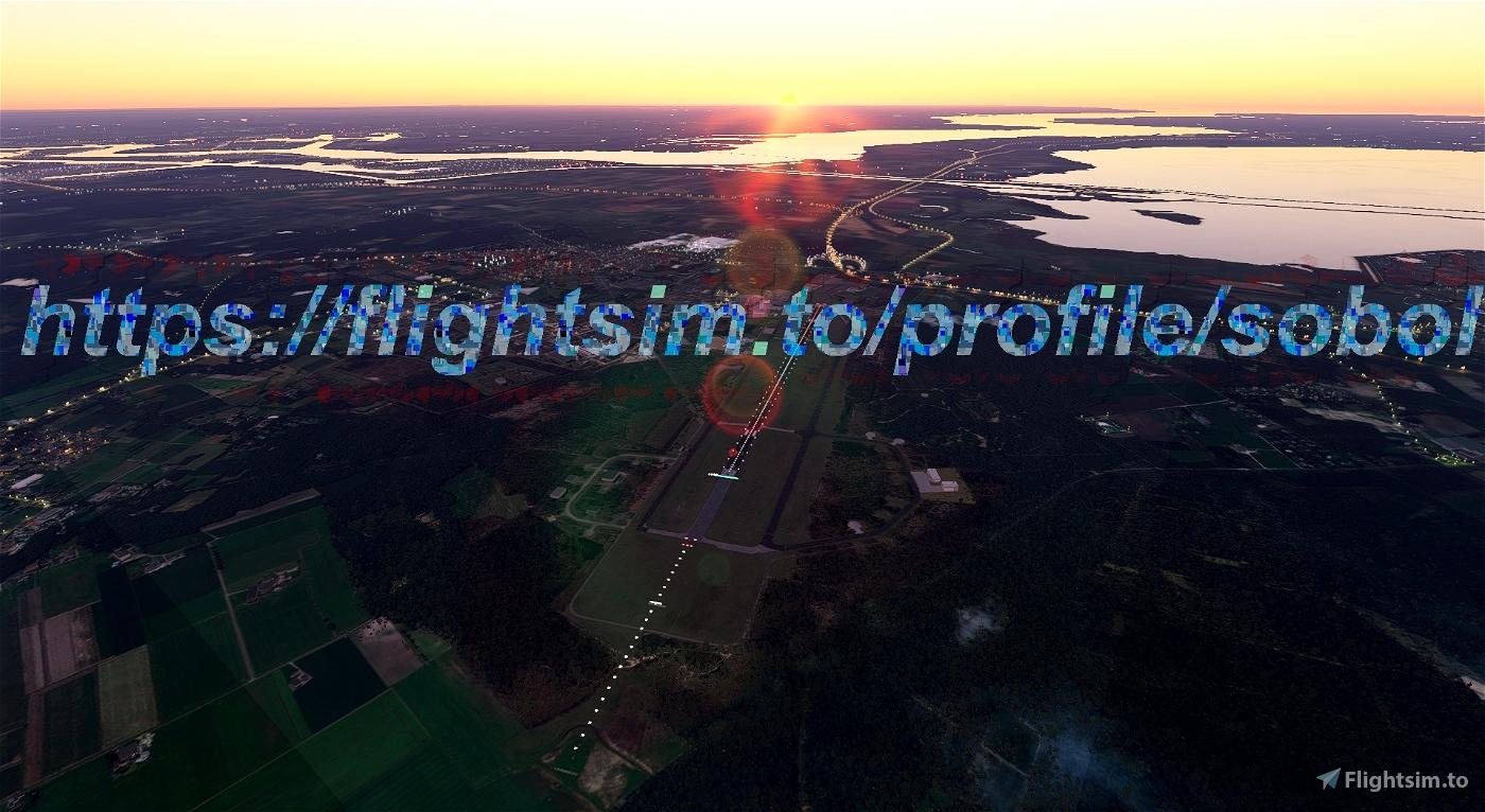 EHWO-Woensdrecht Airbase Flight Simulator 2020