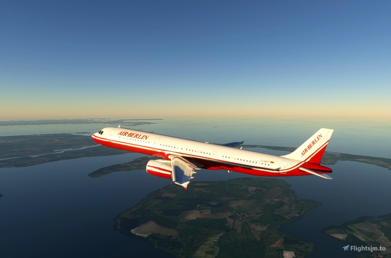 Air Berlin Retro Airbus A321 Image Flight Simulator 2020