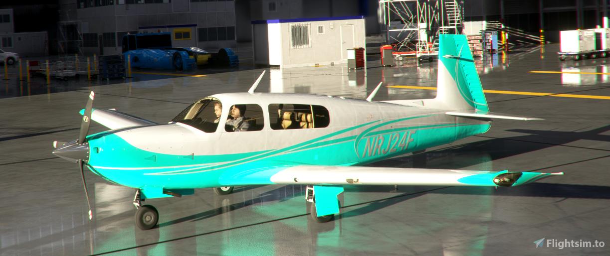 Mooney Livery 8 Colors Style 4 Flight Simulator 2020