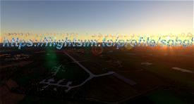 EHDP-De Peel Airbase Image Flight Simulator 2020