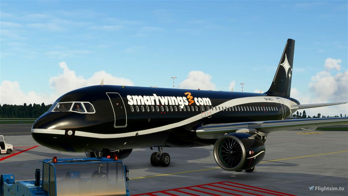 A320 NEO (Lithuanian) Smartwings Black Flight Simulator 2020