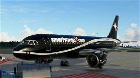 A320 NEO (Lithuanian) Smartwings Black Image Flight Simulator 2020