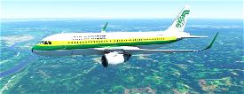 A320neo AIR AFRIQUE Image Flight Simulator 2020