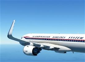 Scandinavian Airlines System / SAS [8K] Image Flight Simulator 2020