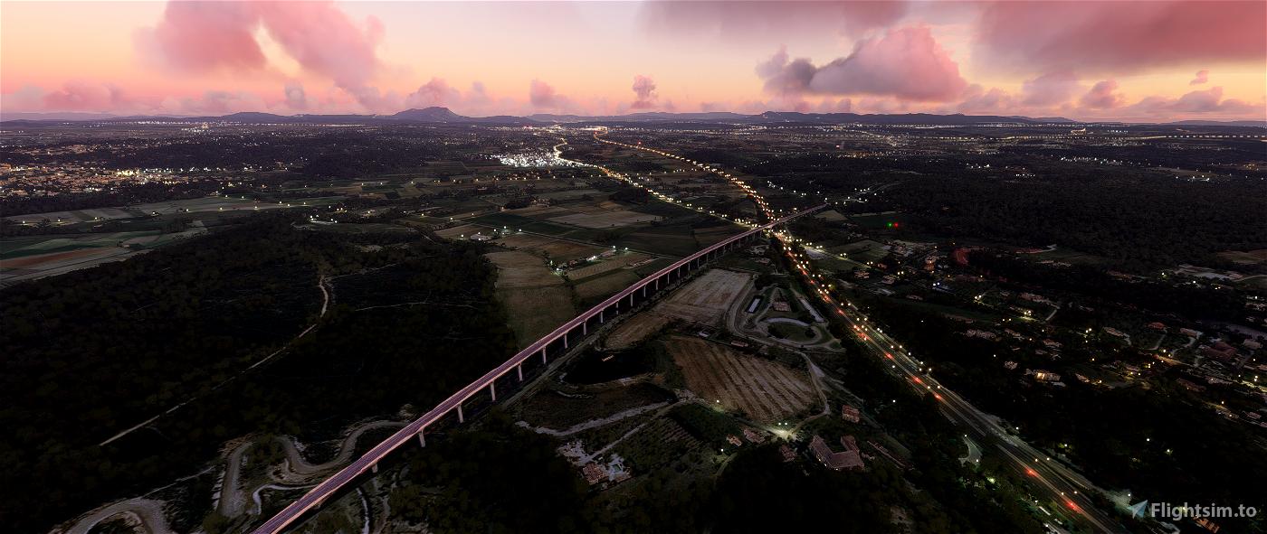 Viaduc de Ventabren Flight Simulator 2020
