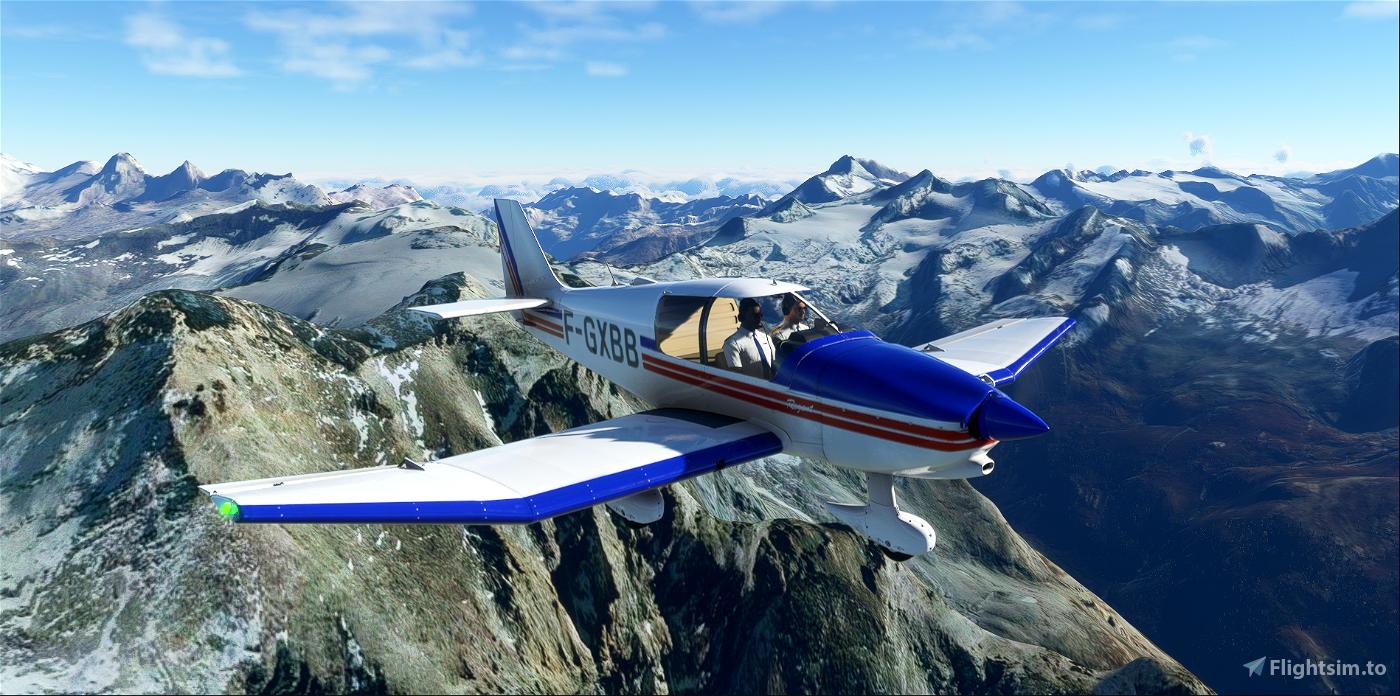 Robin DR400 Aéro-club de Senlis Chantilly Creil F-GXBB Flight Simulator 2020