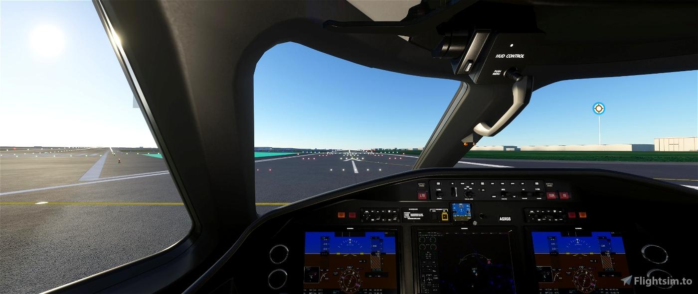 Longitude better pilot & landing cameras Flight Simulator 2020