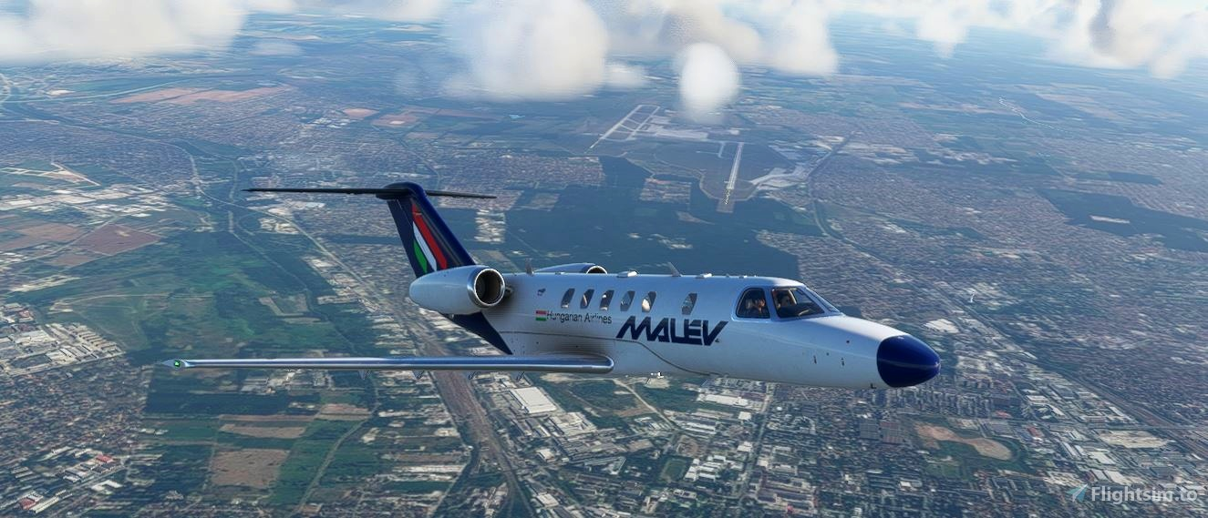 MALEV Cessna Citation cj4