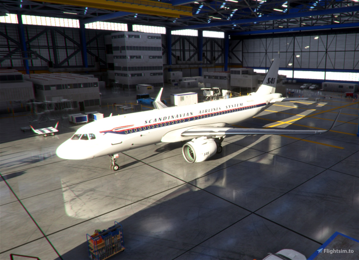 Scandinavian Airlines System / SAS [8K]