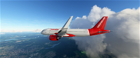 Gamerpard Airline (VA) A320NEO Livery Image Flight Simulator 2020
