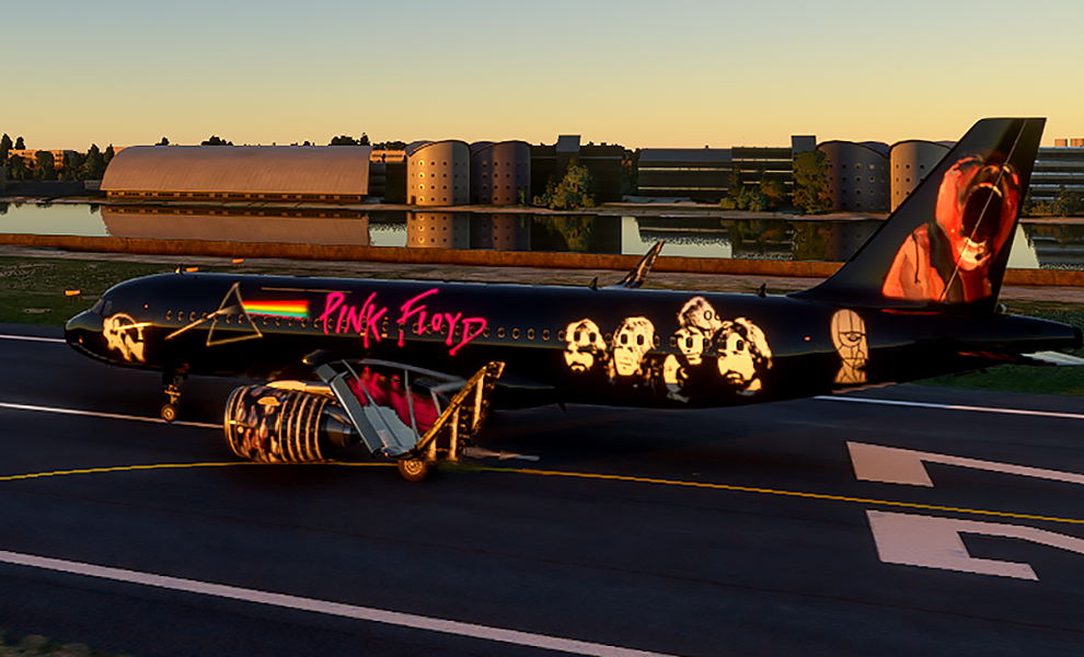 A320neo Pink Floyd Tribute