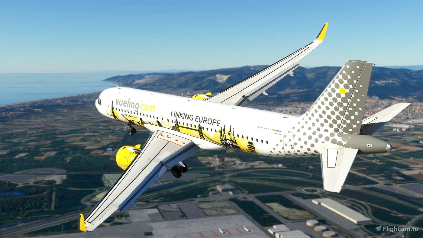 Vueling Airlines (Linking Europe) EC-LVP [8K]