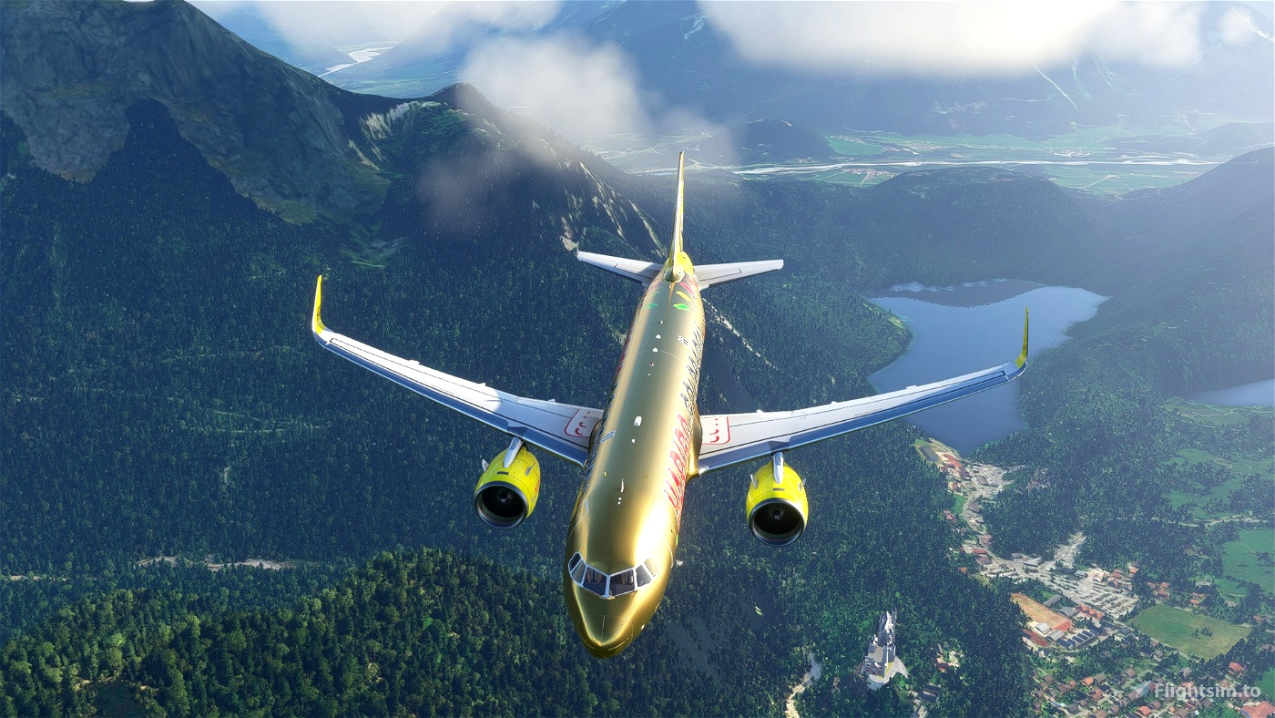 A320 NEO TUI Haribo HaribAIR (Thomson Airways Limited)