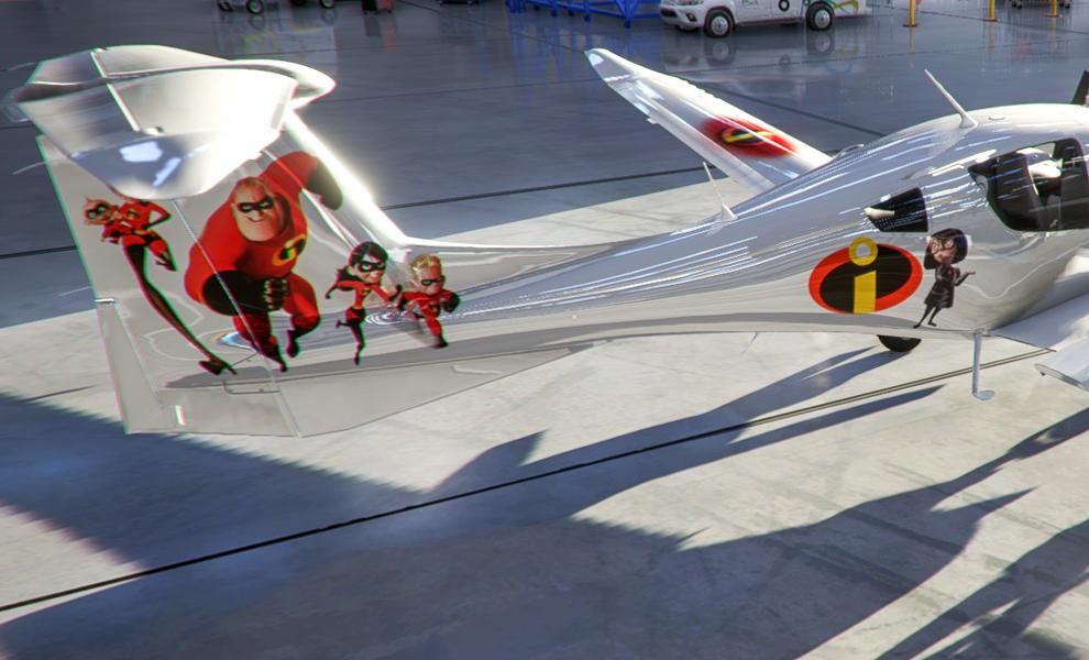 DA62 The Incredibles v2