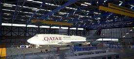 B747-8F Qatar Airways Cargo A7-BGB [8K] Image Flight Simulator 2020
