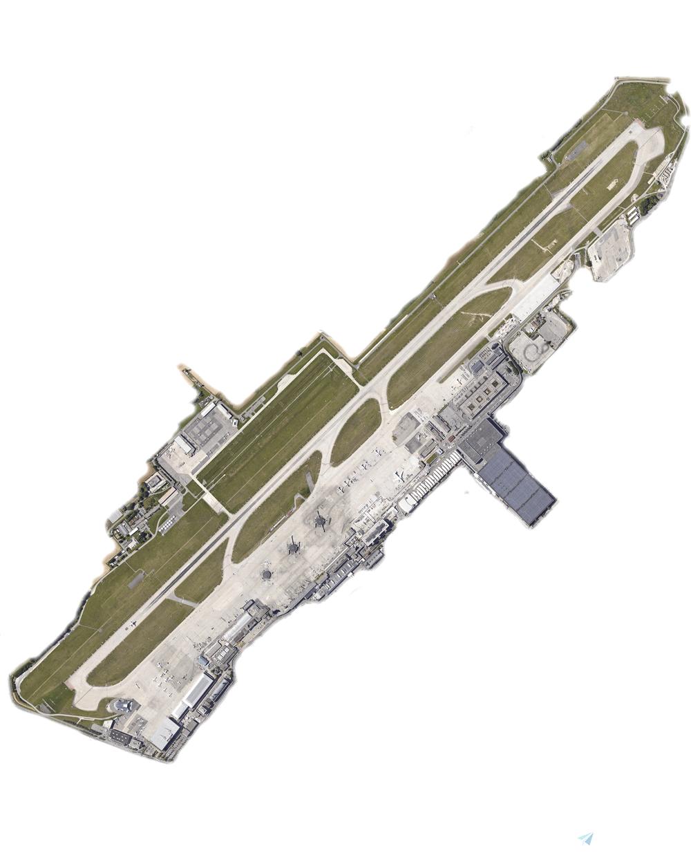 Geneva LSGG Aerial Textures Microsoft Flight Simulator