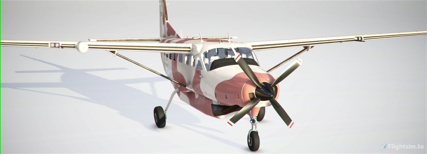 Chadian Air Force Cessna 208 B Flight Simulator 2020