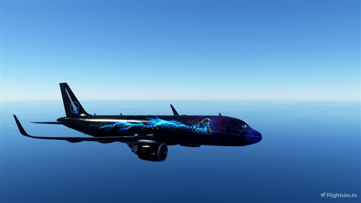 A320 Yoda Power Flight Simulator 2020