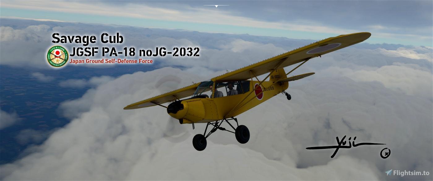JGSF PA-18 noJG-2032