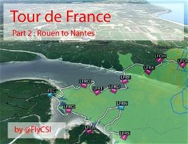 Bush Trip - Tour de France Part 2 - Normandy, Cotentin and Brittany Image Flight Simulator 2020