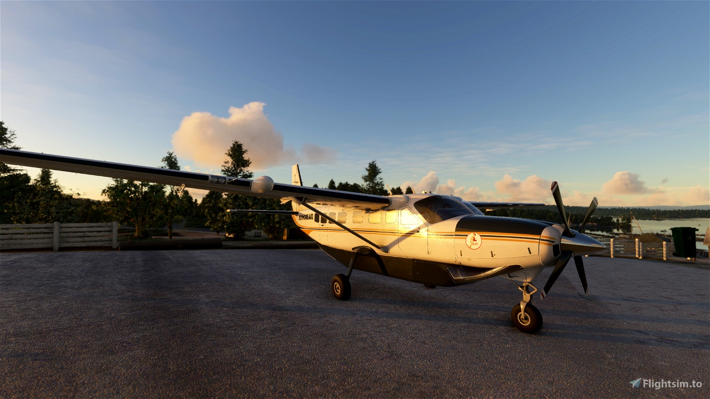 CESSNA 208 B - KENMORE AIR Flight Simulator 2020