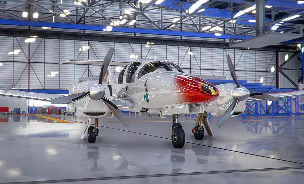 DA62 The Incredibles v2 Flight Simulator 2020