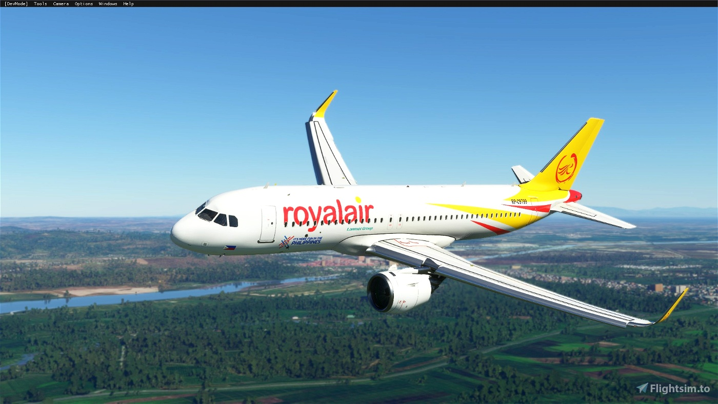 Royal Air Philippines (8K)[RP-C9799] Flight Simulator 2020