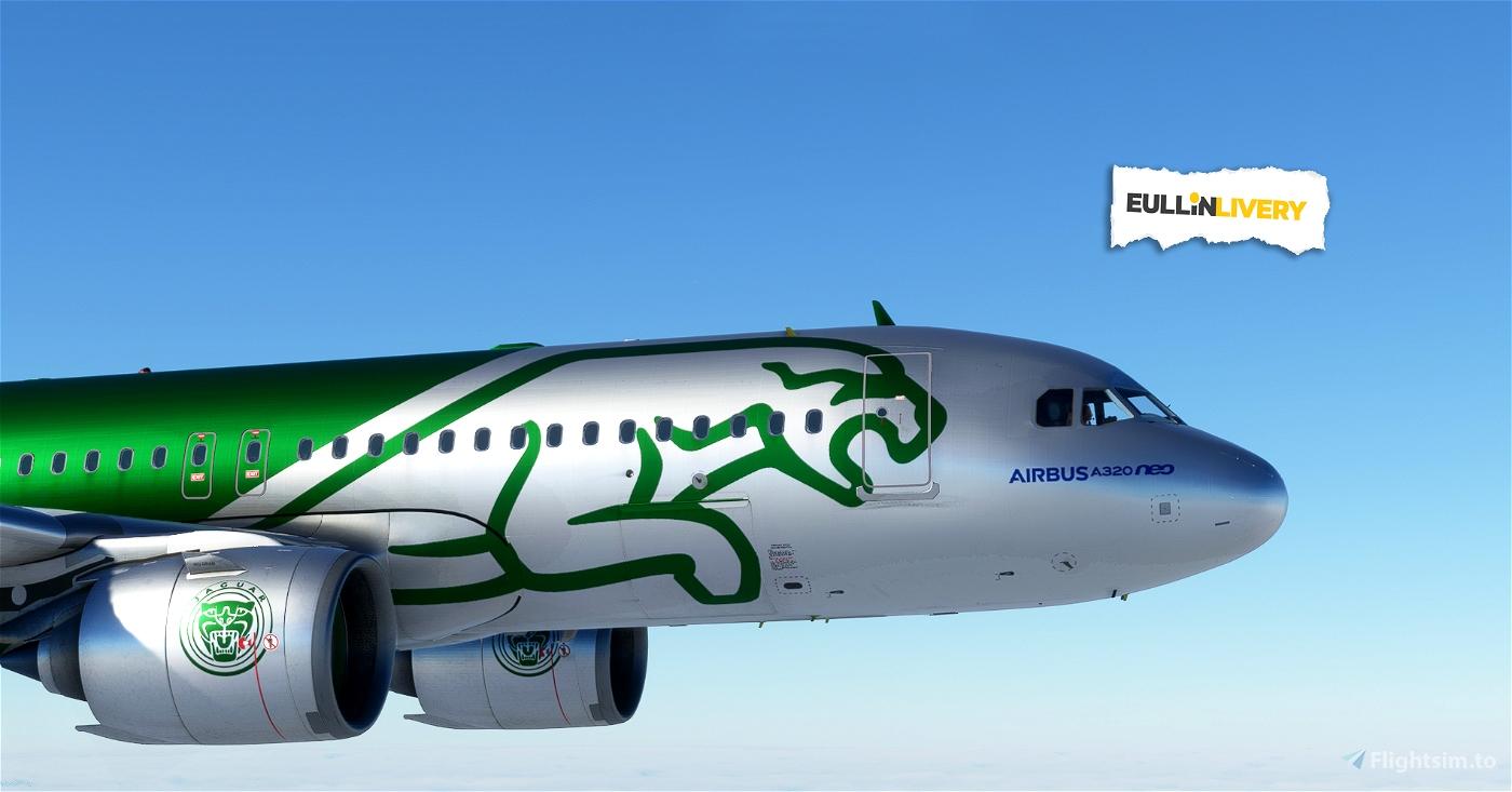 A320 neo Dirt - JAGUAR
