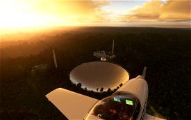 Arecibo Observatory Microsoft Flight Simulator