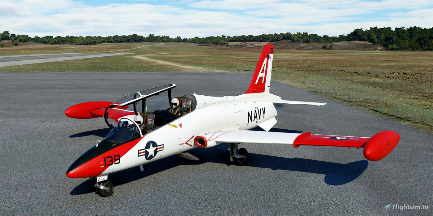 Aermacchi MB-339A US NAVY 139