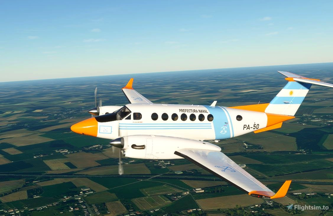 Prefectura Naval Argentina King Air 350 (fictional)