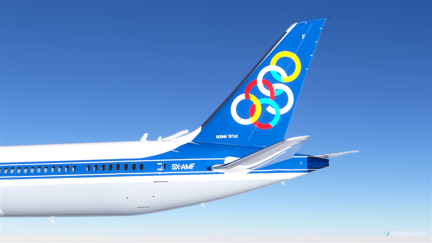 [8K] Olympic Airways (SX-AMF)