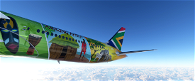 B787 South African concept livery | 6K Image Flight Simulator 2020