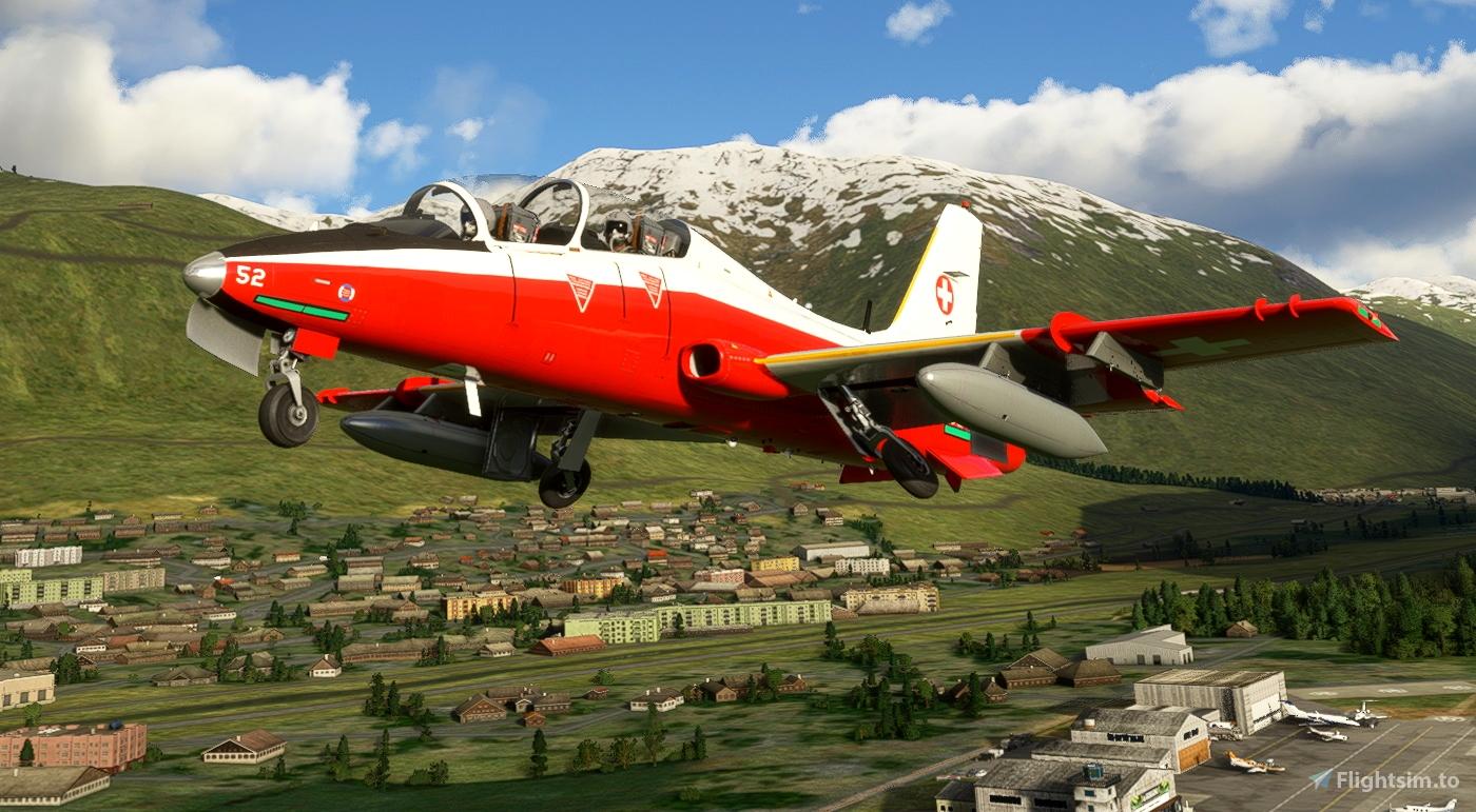 MB-339PAN Swiss Air Force U-1252