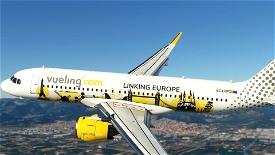 Vueling Airlines (Linking Europe) EC-LVP [8K] Image Flight Simulator 2020