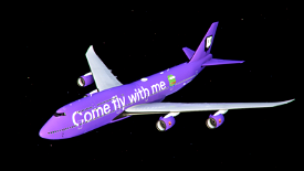 Come Fly With Me Twitch x BobbyFuzzy Livery Image Flight Simulator 2020