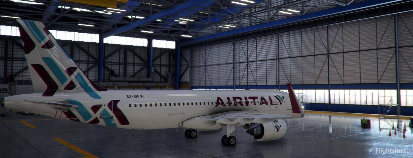Air Italy A320-Neo  Flight Simulator 2020