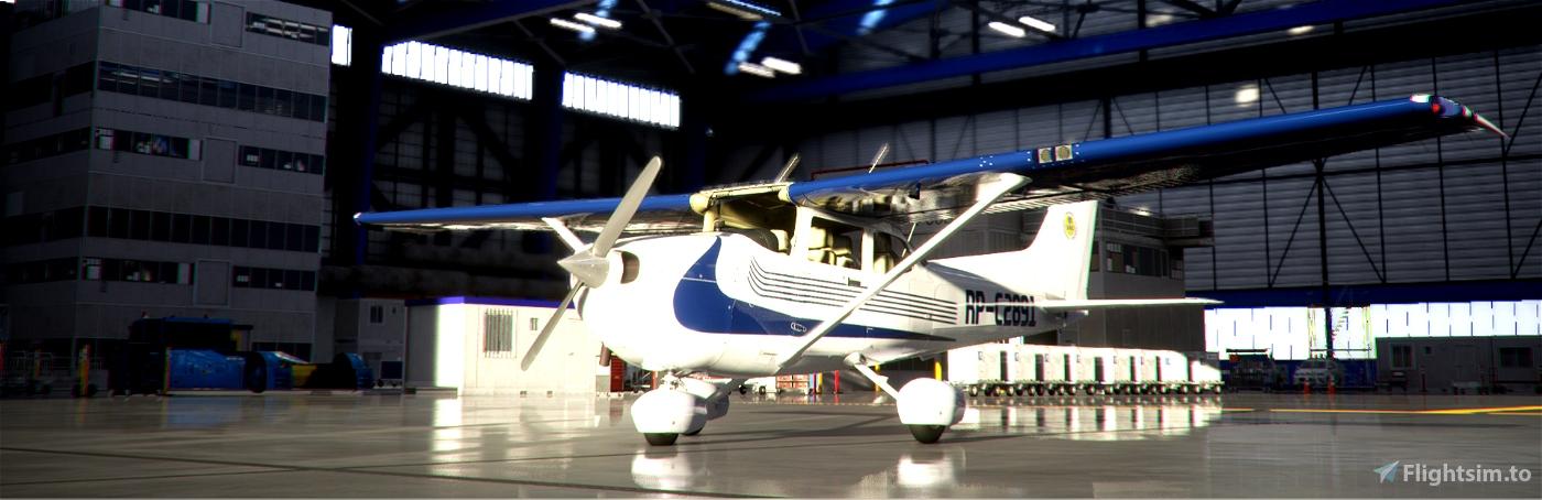 Cessna 172 G1000 Indiana Aerospace Trainer Flight Simulator 2020