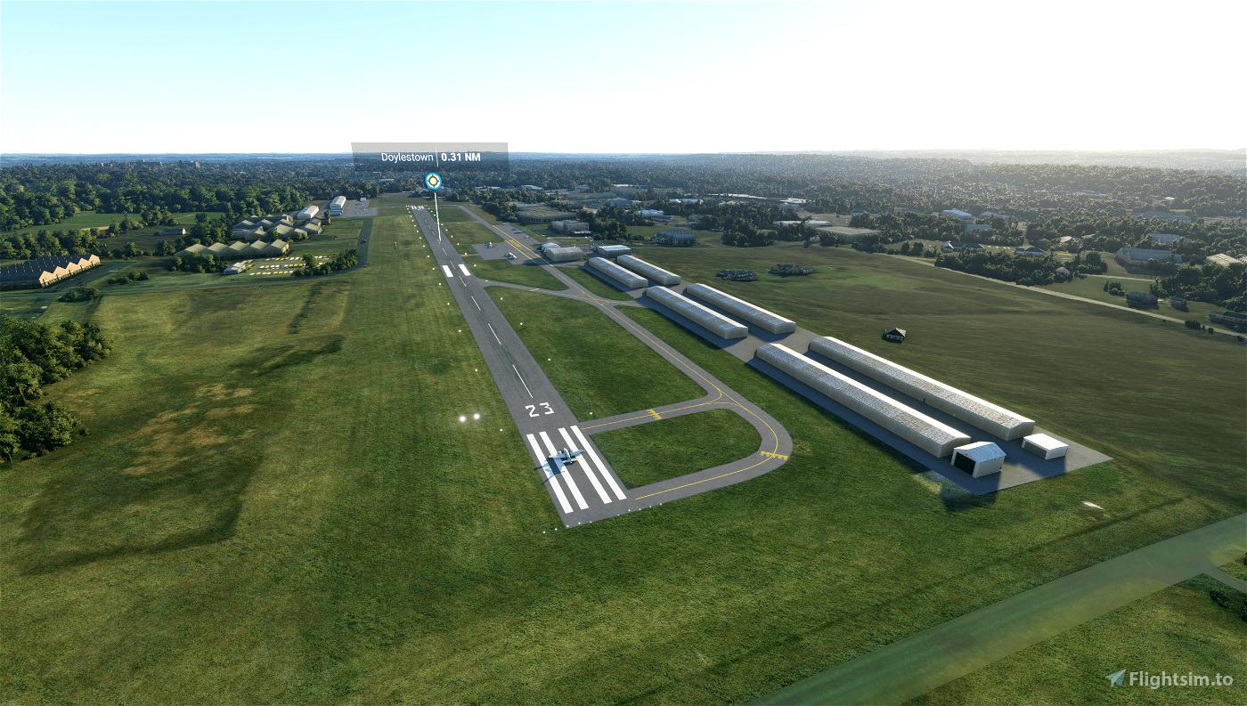 KDYL - Doylestown Airport Microsoft Flight Simulator