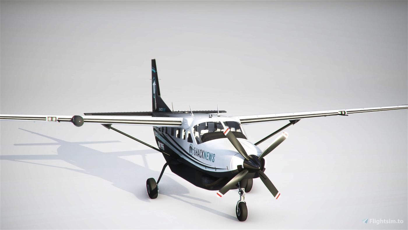 Shacknews Cessna 208 B Microsoft Flight Simulator