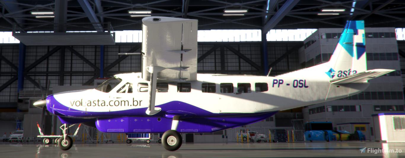 Asta Linhas Aéreas PP-OSL C208B