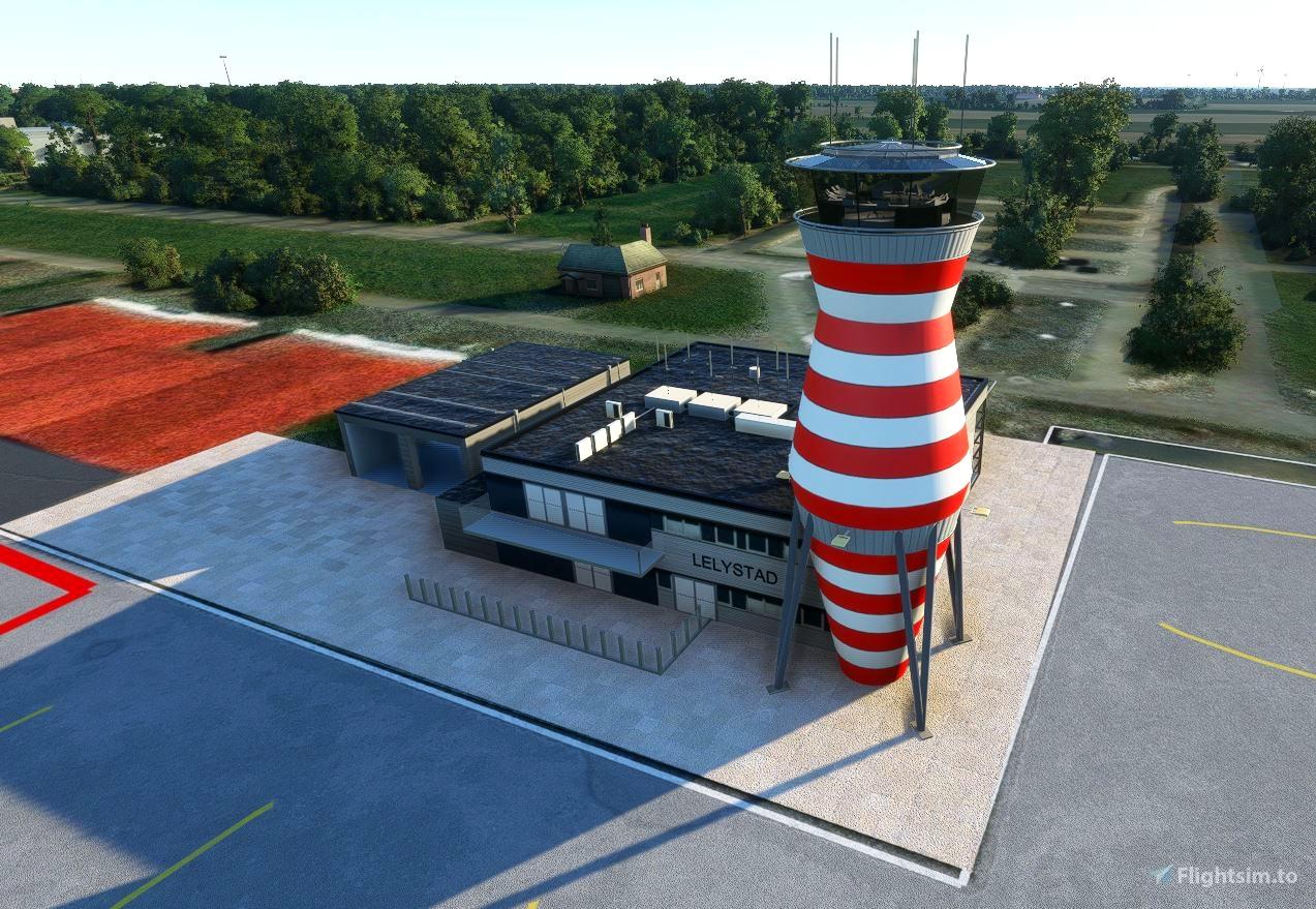 Lelystad Tower Flight Simulator 2020