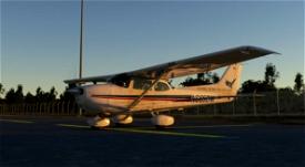 Daniel Webster College C172 Skyhawk Classic Liveries Image Flight Simulator 2020