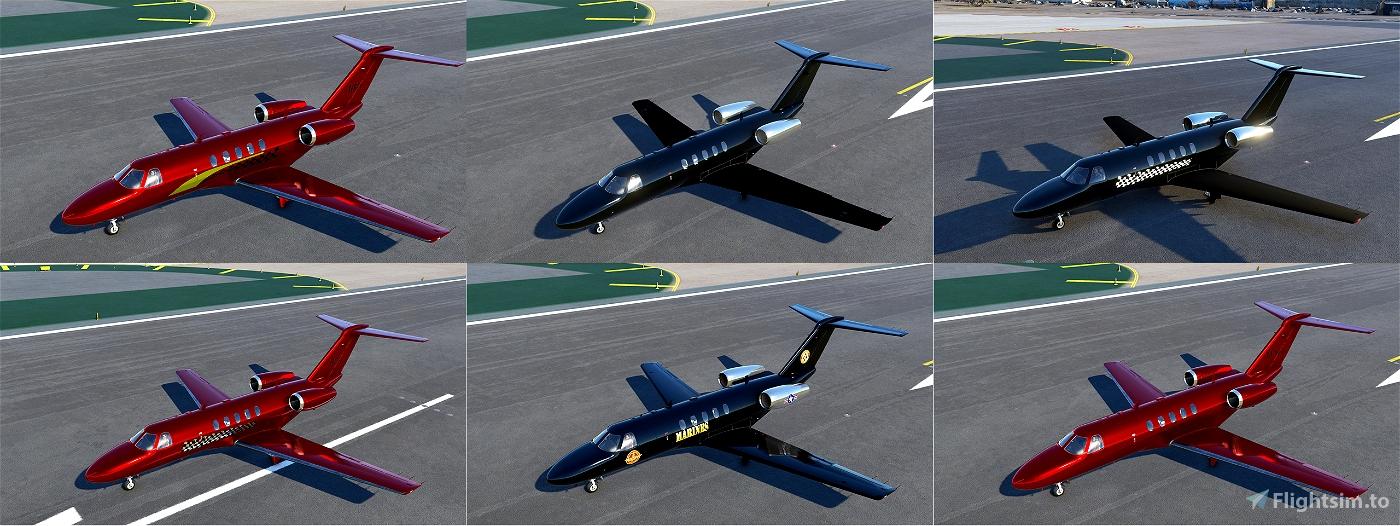 CJ4 Paint Package v2 Flight Simulator 2020